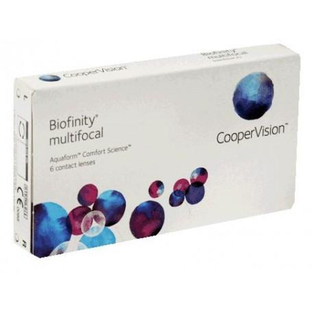 Контактни лещи Biofinity Multifocal
