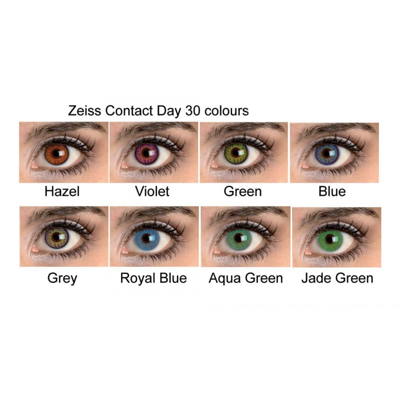 92fc38a14ef Coloured Contacts Zeiss (2 lenses) - OpticStar