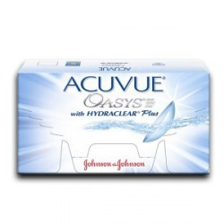 ACUVUE® OASYS™ with HYDRACLEAR™PLUS (6 lenses)