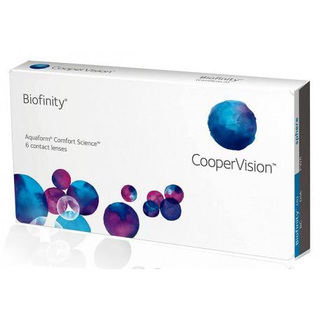 Контактни лещи Biofinity