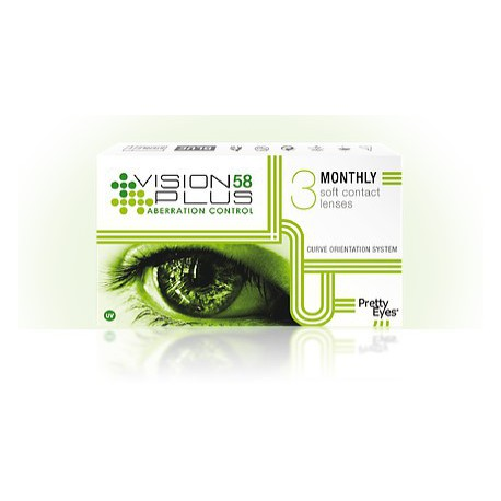 Vision 58 Plus Hydrogel (3pcs)