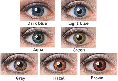 contact lenses color